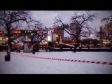 Опубликовано видео работ с места наезда автобуса на людей в Москве    Общество    РБК