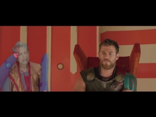 THOR RAGNAROK Deleted Scene - Hologram Party (2017) Jeff Goldblum Movie HD