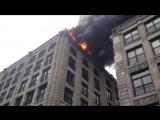 Пожарная машина растолкала всех