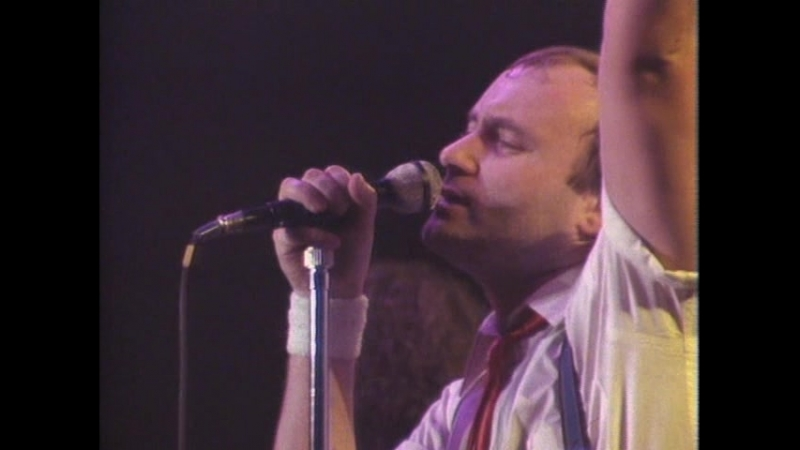 Genesis Phil Collins 1984 The Mama Tour