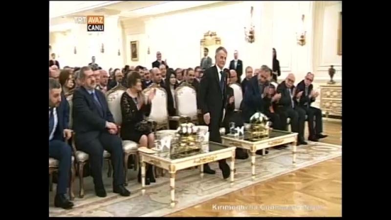 Kırımoğluna Cumhuriyet Nişanı...(15 Nisan 2014) - TRT AVAZ