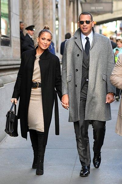 Дженнифер Лопес и Алекс Родригес светились от счастья на свидании в Нью-Йорке