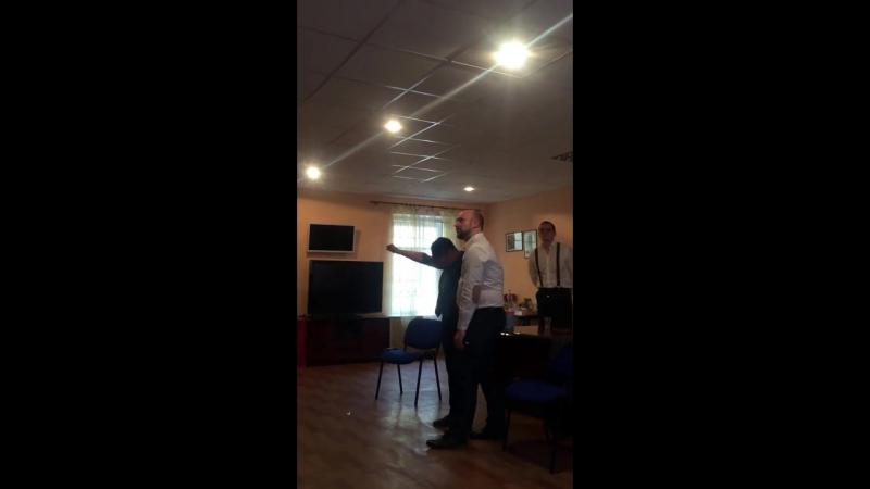 Демонстрация гипнотических феноменов на тренинге Клинический гипноз в апреле 2017г в СПб