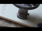 Как просверлить нестандартное отверстие в кафеле и подогнать его по размерам