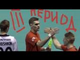 3 период в игре - последняя минута матча с Италией ...обнимашки и ...Флорбол Floorball ФС2018 - ДОМОЙ