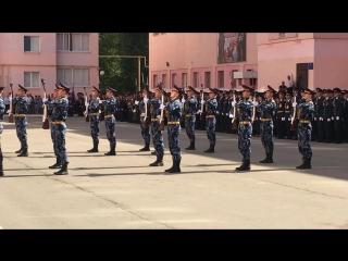 плац- парад в Юридическом институте ФСИН