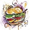 """Бургер хата """"ЖАДИНА-ГОВЯДИНА"""" - 18.02 поешь"""