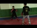 Тренировка бойца М-1 Армана Ашимова, Казахстан