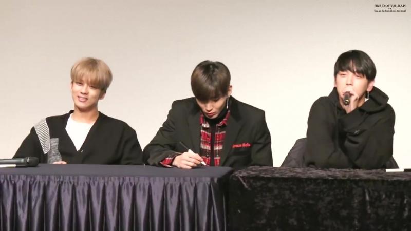 FANCAM — 25.12.17 Фан-сайн в честь выхода 8-го сингл-альбома B.A.P «EGO» в Ильсане