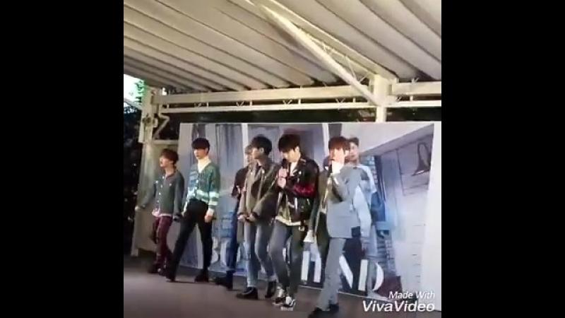 [Фанкам|VK][19.02.2018] Boyfriend на релиз-мероприятии, посвященном выпуску японского сингла
