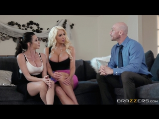 Ariella Ferrera & Nicolette Shea (Parent Teacher Cumference)[2018, All Sex, Threesome, Squirt, Big Tits, HD 1080p]