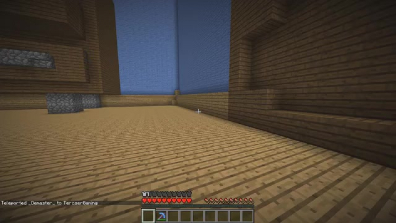 НОВЫЕ СТОЛБЫ С ЛАКИ БЛОКАМИ! ТЕРОСЕР VS DEMASTER! Minecraft