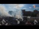 Последствия пожара на Таганской