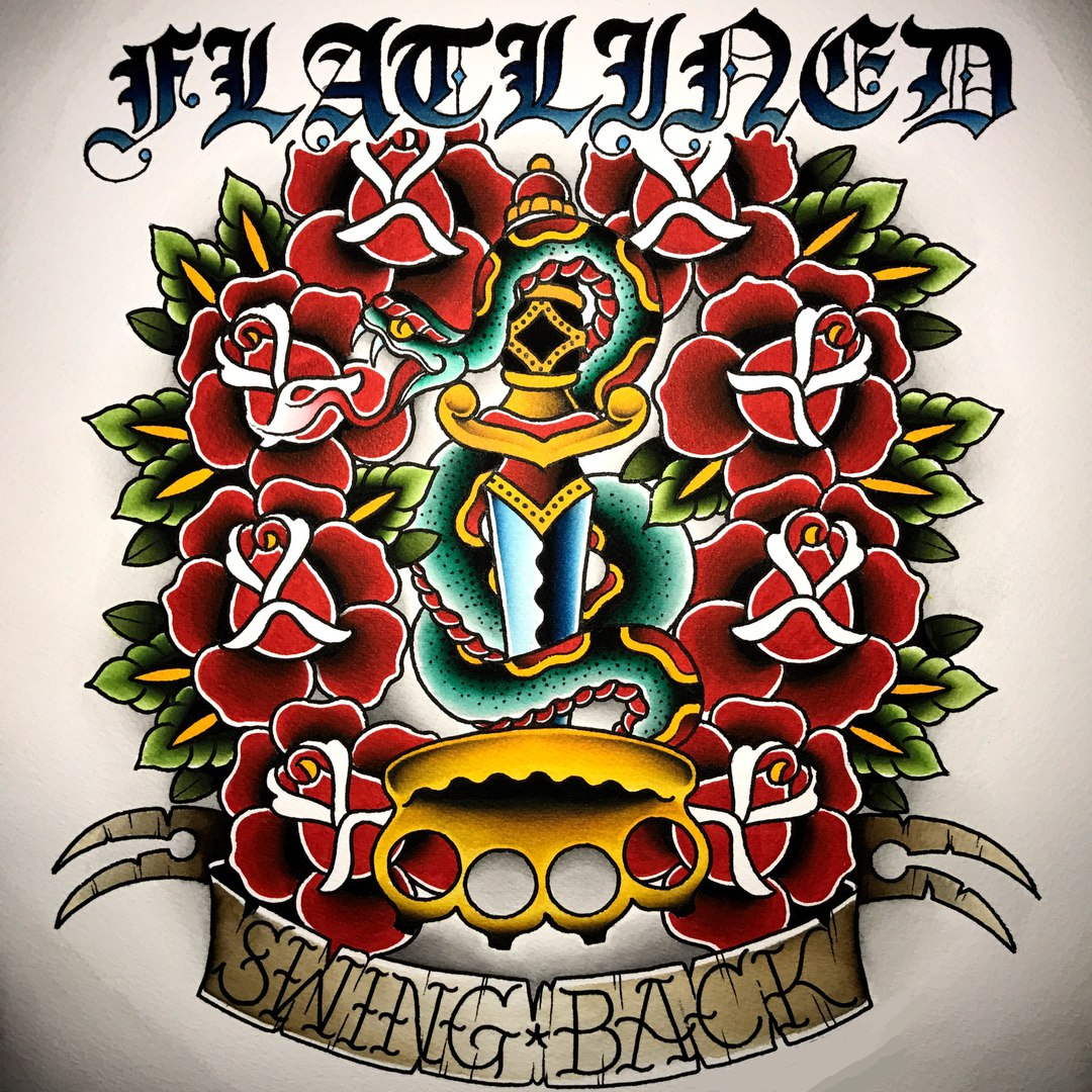 Flatlined - Swing Back [EP] (2017)