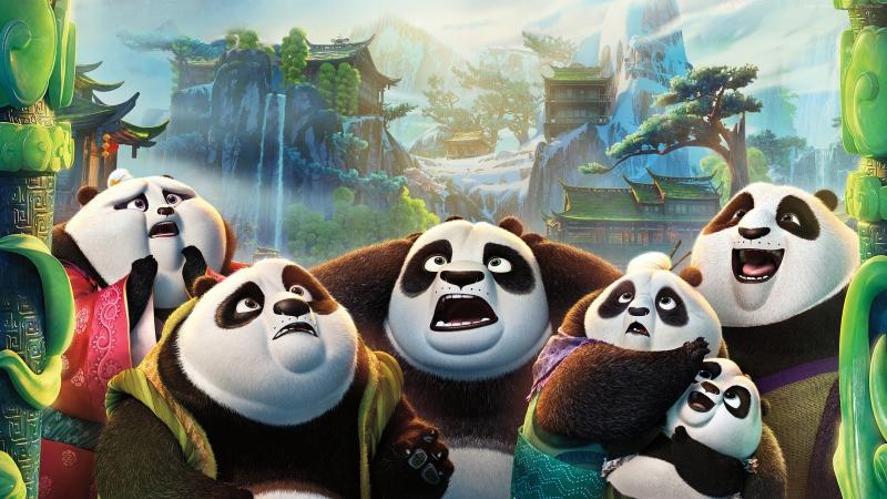 Кунг фу панда 3 смотреть онлайн без регистрации