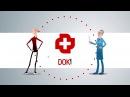 Инфографика про полезное приложение Док Услуги