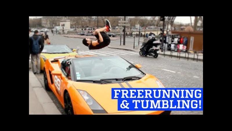 Extreme Freerunning Tumbling