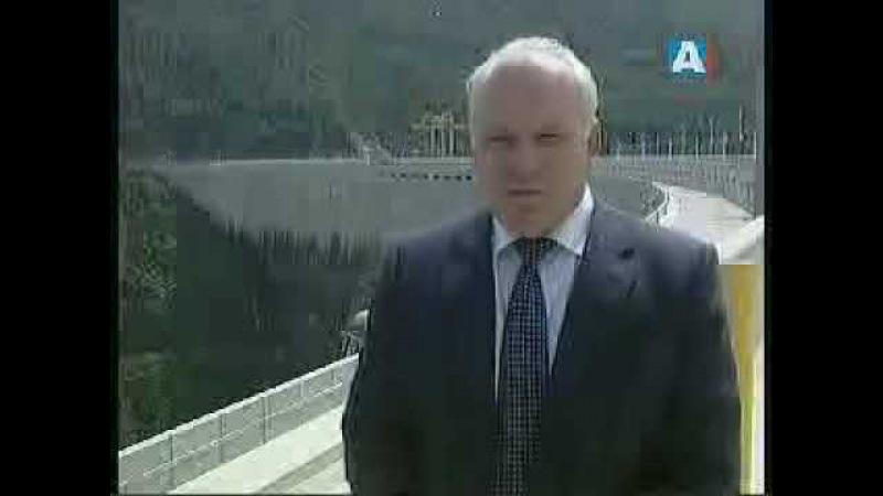 Сегодня в Абакане (ТВ Абакан, 17 августа 2009) Виктор Зимин о ситуации на Саяно-Шушенской ГЭС