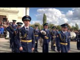 Парад казачьих войск на Соборной площади Новочеркасска