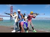 Трейлер бесплатного DLC Watch Dogs 2  4 Player Party Mode.