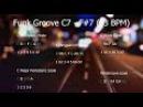 Acid Jazz Funk Groove Jam Track in 93 BPM С7 F 7
