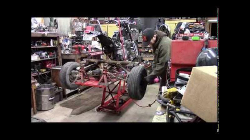 Mantis Garage Yamaha Trike Build 4