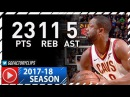 Dwyane Wade Full Highlights vs Clippers (2017.11.17) - 23 Pts, 11 Reb off the Bench