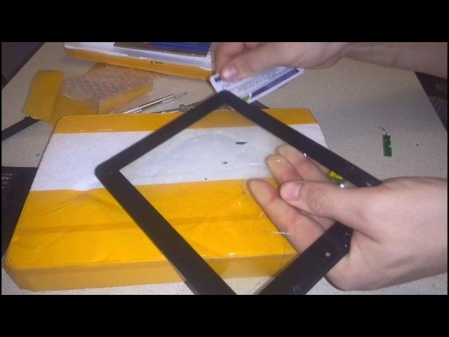 РЕМОНТ планшета Prestigio Multipad 2 duo замена тачскрина