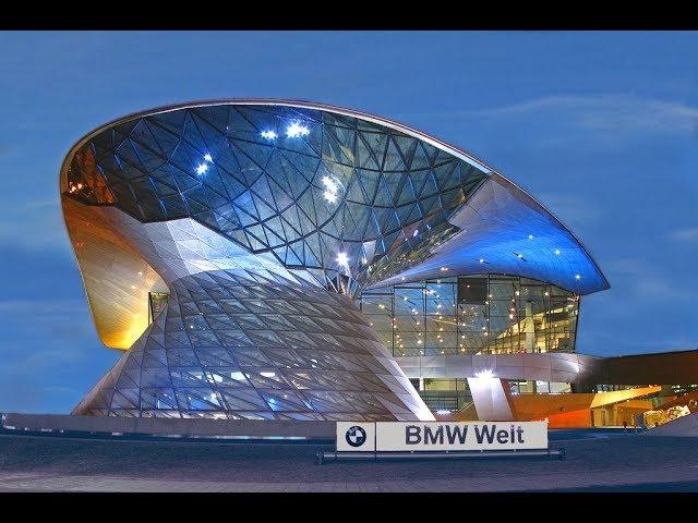 Музей БМВ в Германии(Бавария). Все модели Бмв.