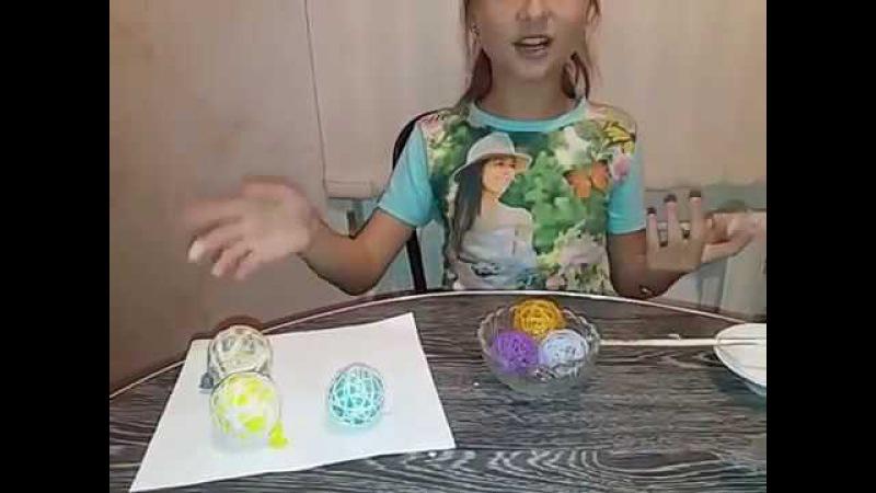 МАЛЕНЬКИЕ шарики для декоротивных веток