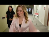 Jackie Evancho Behind the Scenes of  Original song Pedestal