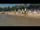 Ozkaymak Incekum. Клубный танец на пляже