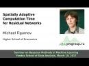 Spatially Adaptive Computation Time for Residual Networks, Michael Figurnov,