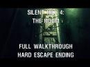 Silent Hill 4 The Room полное прохождение игры концовка побег Escape