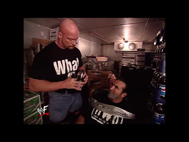 Stone Cold Steve Austin Kidnaps Scott Hall Segments Part 1 SmackDown 02.21.2002