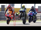 Valentino Rossi vs Marc Marquez Best Fight ever!!!