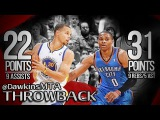 Russell Westbrook vs Stephen Curry PG Duel 2013.11.14 - Steph With 22, 9, Russ With 31 Pts, 5 Ast!