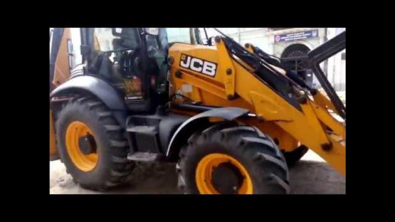МАШИНКИ CAR TOYS EXCAVATOR Катаемся на экскаваторе JCB Видео для детей Про спецтехнику