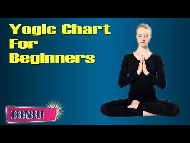 Yoga for Beginners - Various Asana Postures and Benefits in Hindi