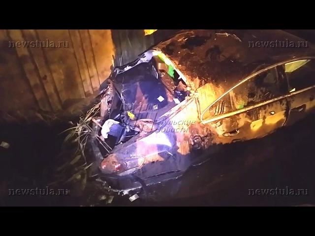 В жутком ДТП на ул. Рязанской в Туле погиб один человек