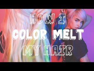 How To Do a Color Melt by atleeeey | ARCTIC FOX HAIR COLOR