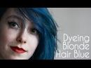 Poseidon on blonde hair by OAKLIGHT | ARCTIC FOX HAIR COLOR