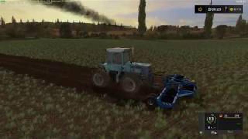 Мод ПАК культиваторов BONNEL UNIDISK V1.0 Farming Simulator 2017