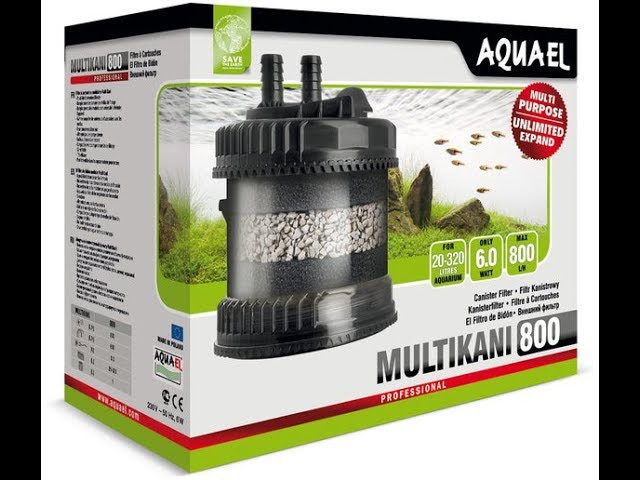 Обзор от mfkrus Внешний фильтр AquaEL Multikani 800 для аквариумов от 20 до 320л