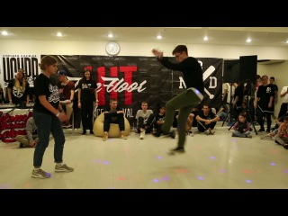 Hit The Floor vol.2 house-dance pro 1/4 Vanda(win) vs Loafer
