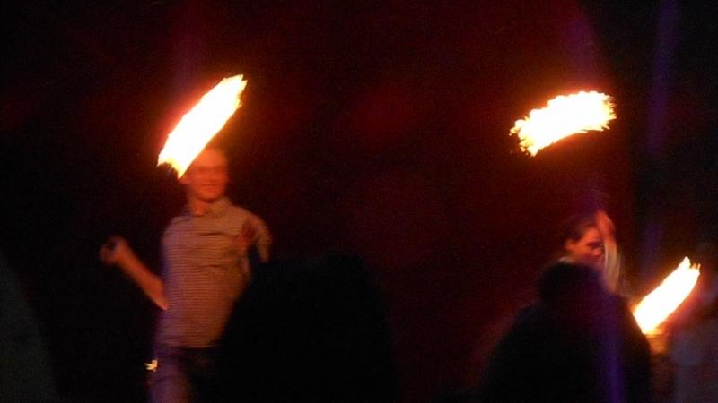 Фаер-шоу в Барануле 22.05.16