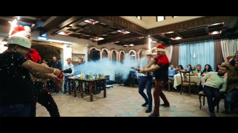 Новый год в ресторане Крымский дворик(videograph Shakir Veliullaev)