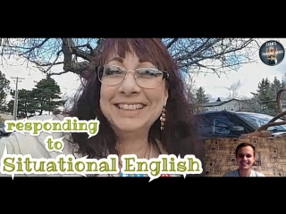 Responding to situational English