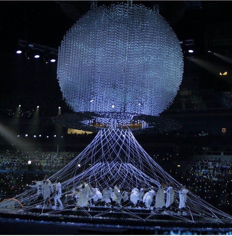 Потрясающее открытие Всемирного фестиваля молодёжи и студентов в Сочи