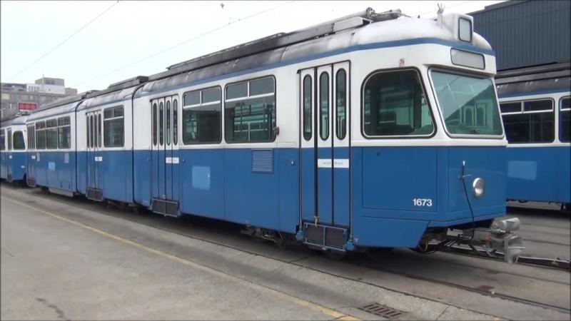 Die letzten 12 VBZ Mirage Tram verlassen Zürich nach Vinnitsa in der Ukraine (23.11.2011)_0_0